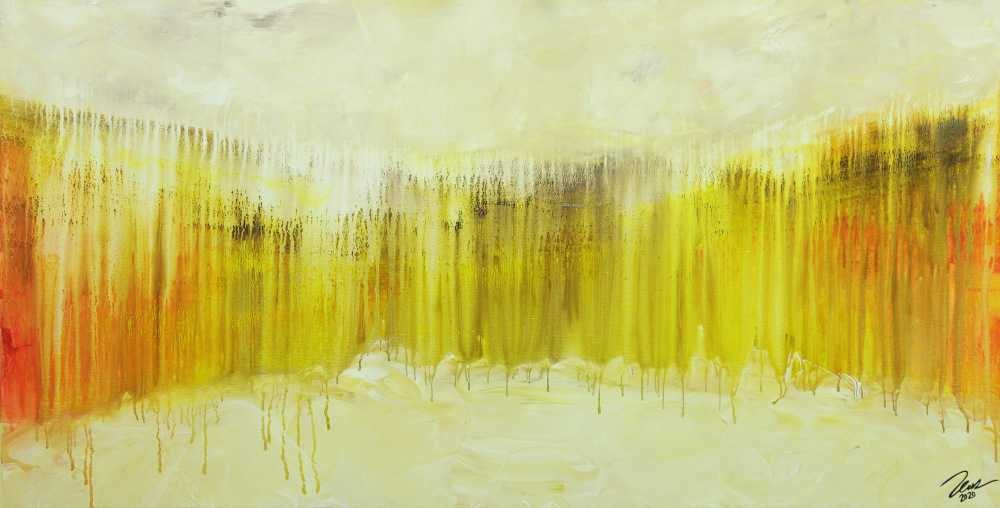 Abstraktes Gemälde Modern art handgemalt auf Leinwand