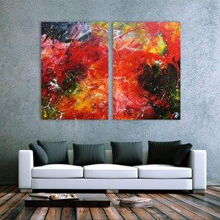 Mehrteilige Gemälde